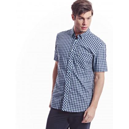 light turquoise short sleeve shirt