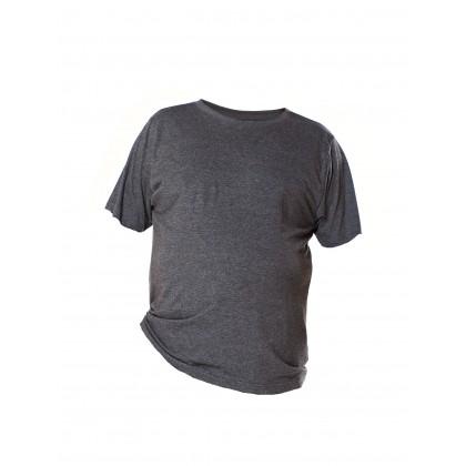 dark gray short sleeve basic tee