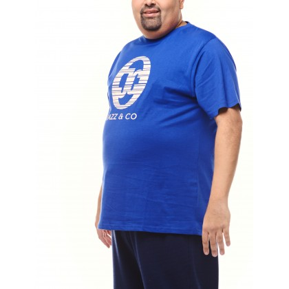 royal short sleeve logo tee