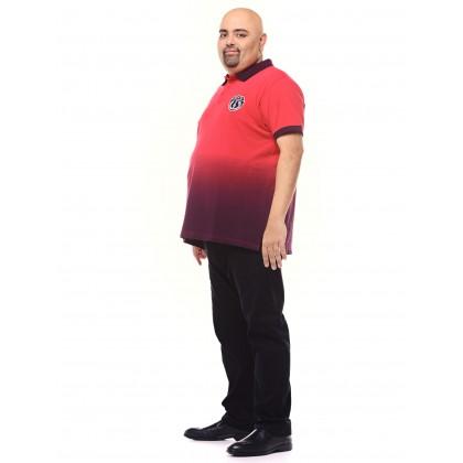 red short sleeve tie dye tee