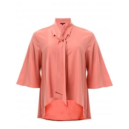 3/4 sleeve  kurung top in peach